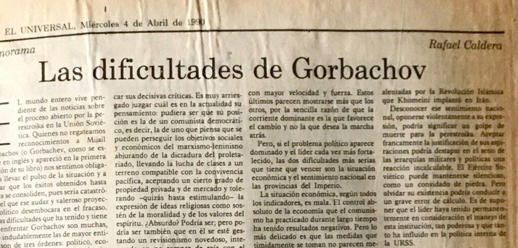 Gorbachov