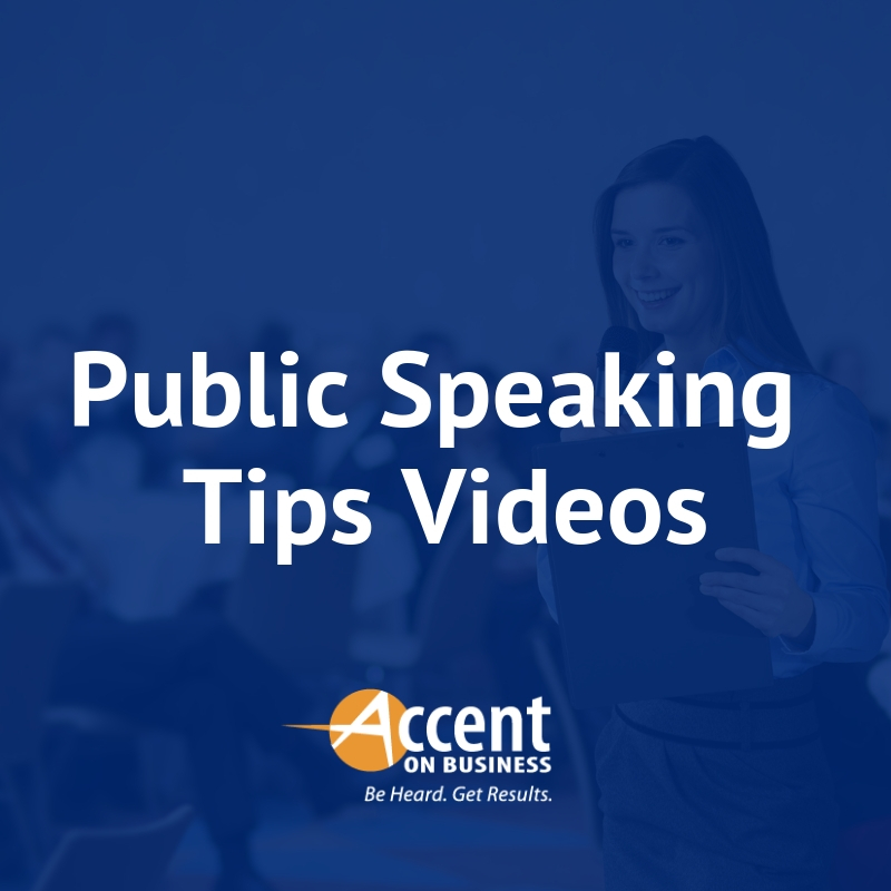 Public Speaking Tips Videos