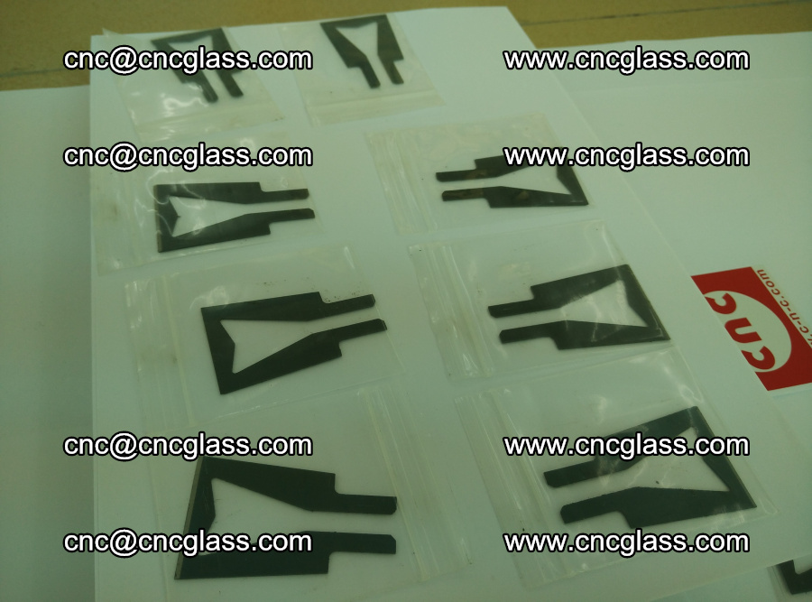 Blades for Thermal cutter trimming laminated glass edges overflowed remains (TPU) (10)