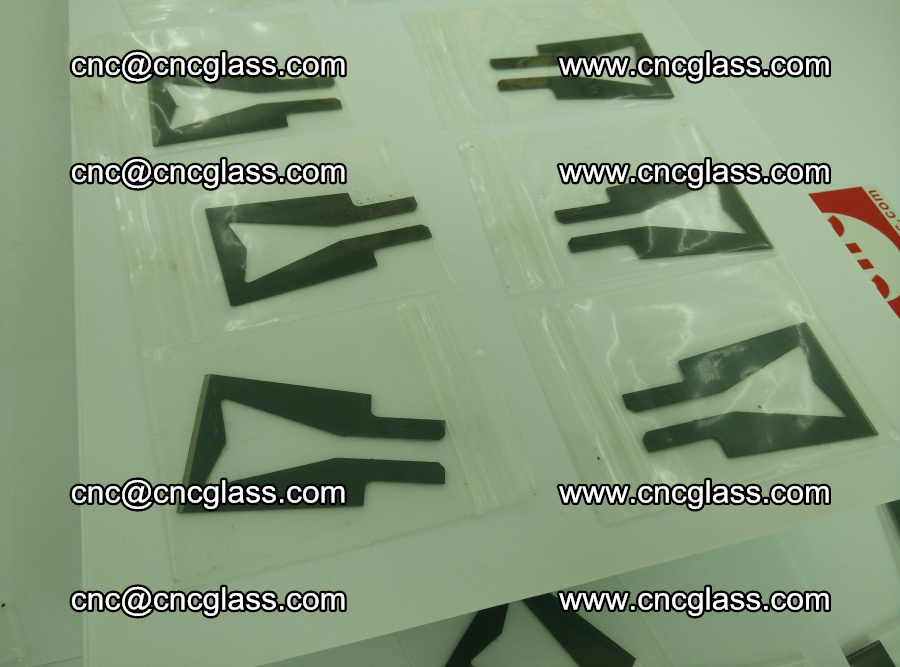 Blades for Thermal cutter trimming laminated glass edges overflowed remains (TPU) (14)