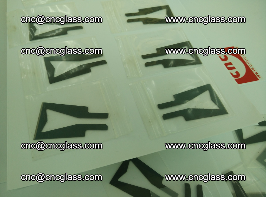 Blades for Thermal cutter trimming laminated glass edges overflowed remains (TPU) (16)