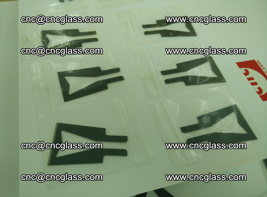 Blades for Thermal cutter trimming laminated glass edges overflowed remains (TPU) (7)