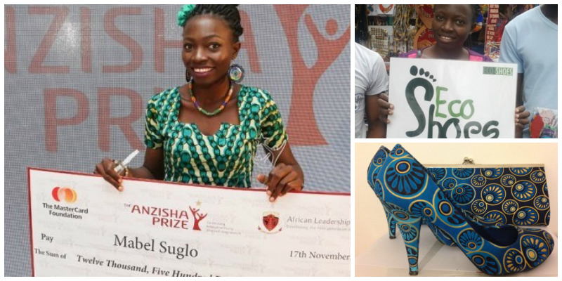 Mabel Suglo Founder EcoShoes Ghana