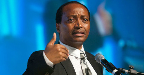 Patrice Motsepe Founder of African Rainbow Minerals Gold Ltd (ARM) South Africa