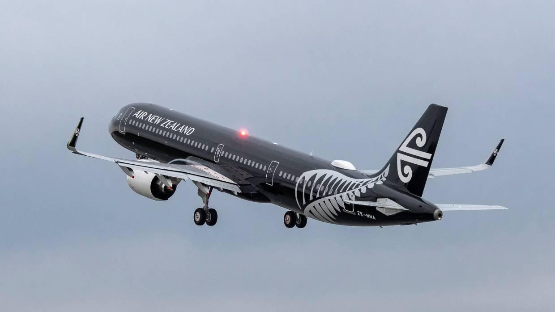 Panda models 1//400 Air New Zealand A321Neo ZK-NNA All blacks