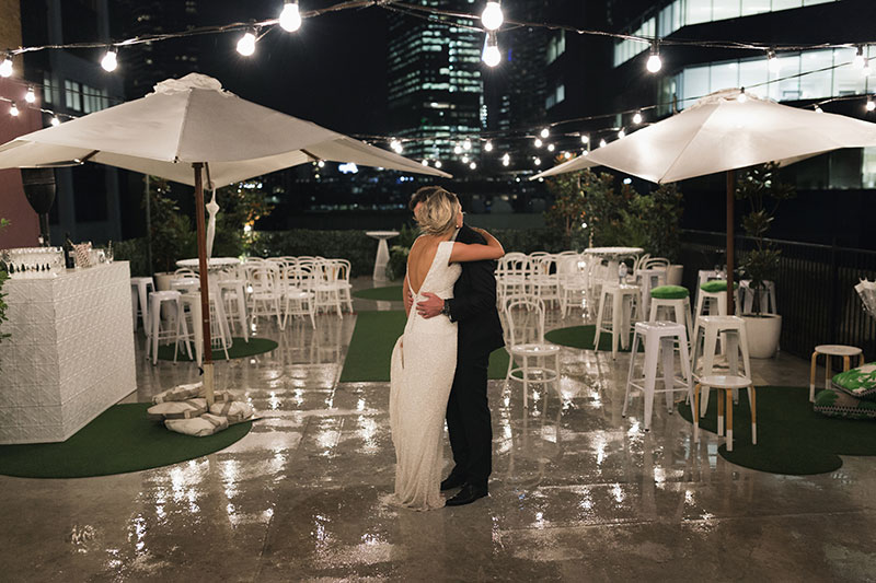 Melbourne Rooftop Wedding