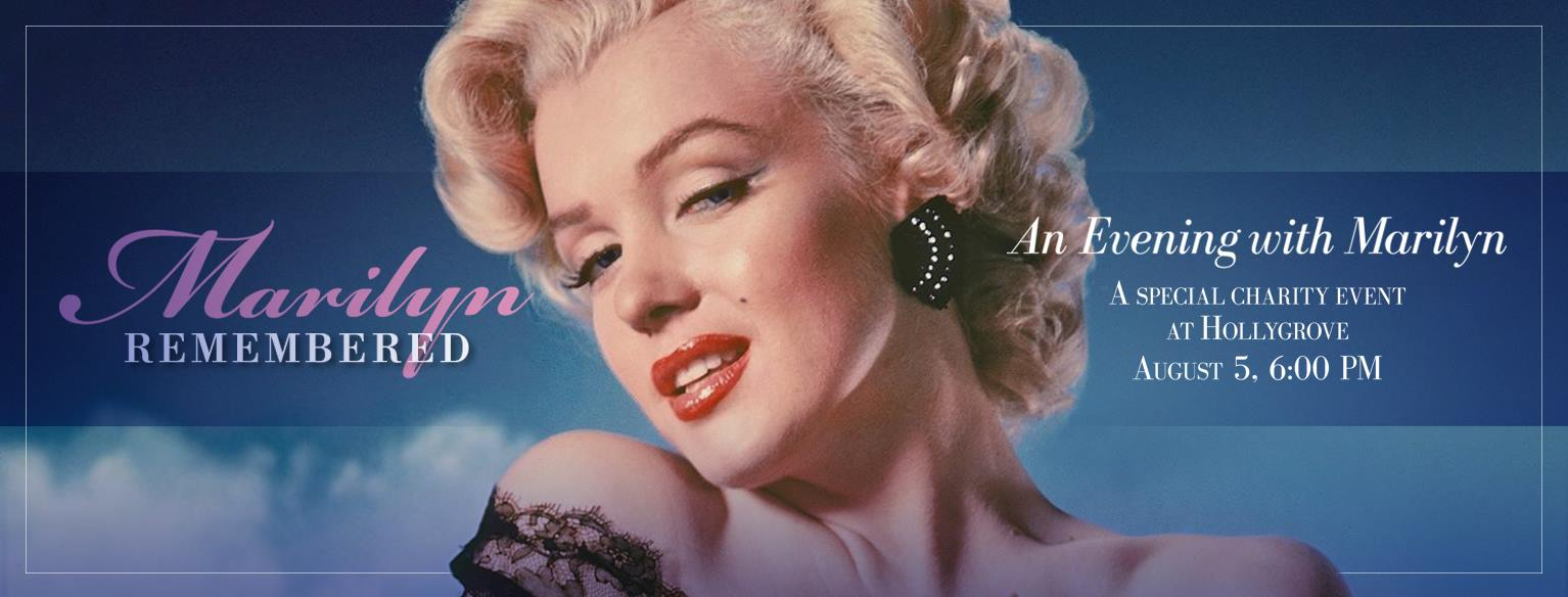 An Evening with Marilyn at Hollygrove Exhibition Photos