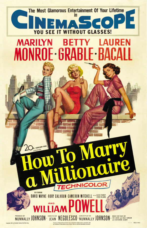 MOVIE MEMORIES: HOW TO MARRY A MILLIONAIRE