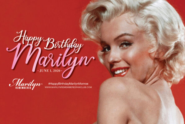 HAPPY BIRTHDAY MARILYN ONLINE CELEBRATION