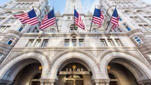 Front of Trump International Building