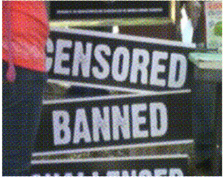 CENSORED BANNED