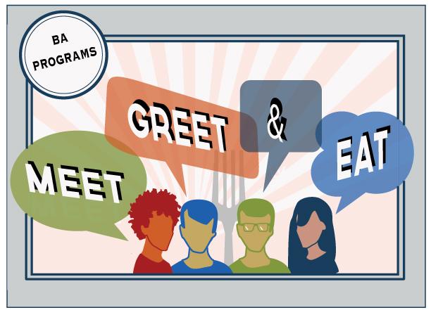 Meet and greet artwork