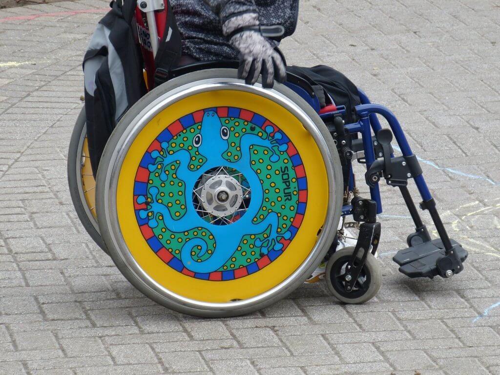 Artful Wheelchair