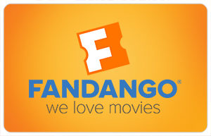 Fandango Tickets or Gift Cards