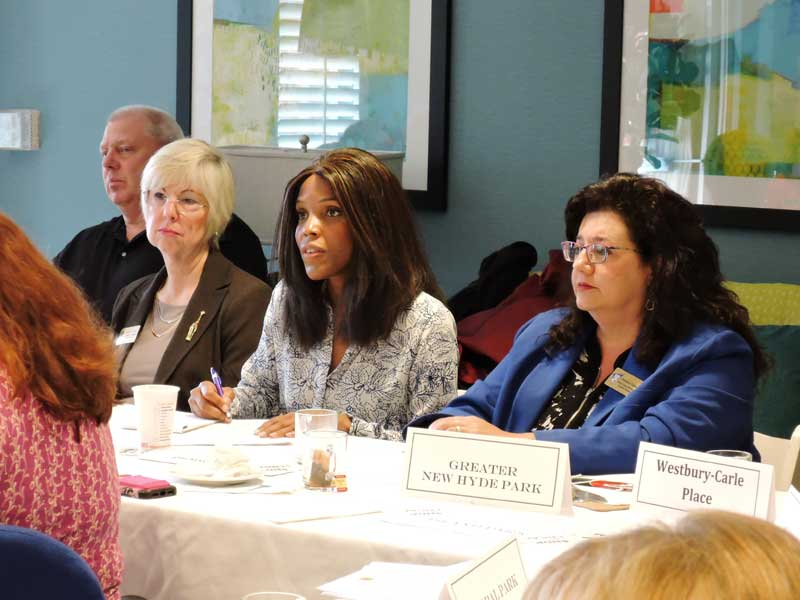 board members at a meeting