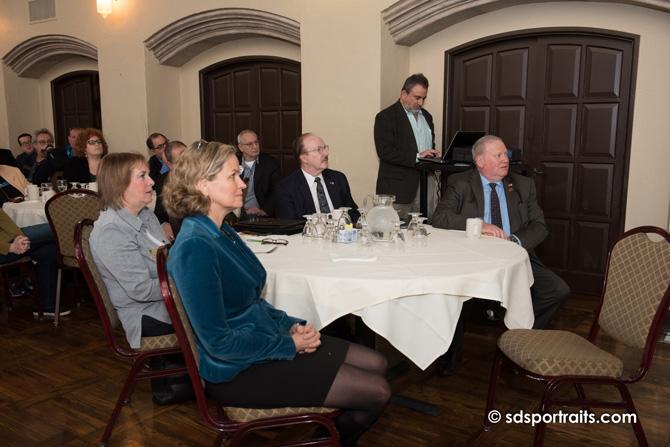 group at a meeting