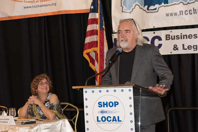 chef speaking at 2018 Breakfast event
