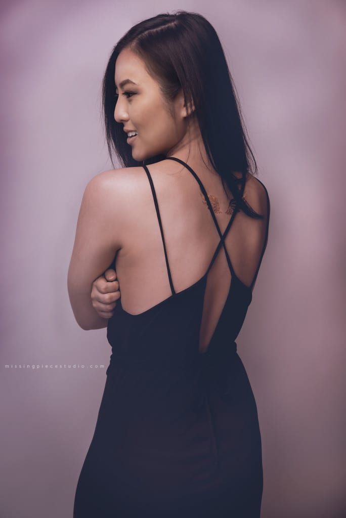 002-Edmonton Calgary Fashion Portrait Photography Pretty Little Black Dress