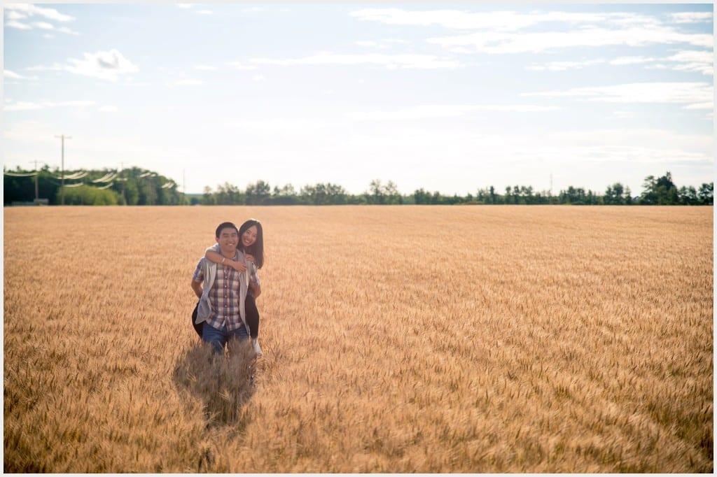 019-Calgary Wheat Field Edmonton Engagement Photography _WEB