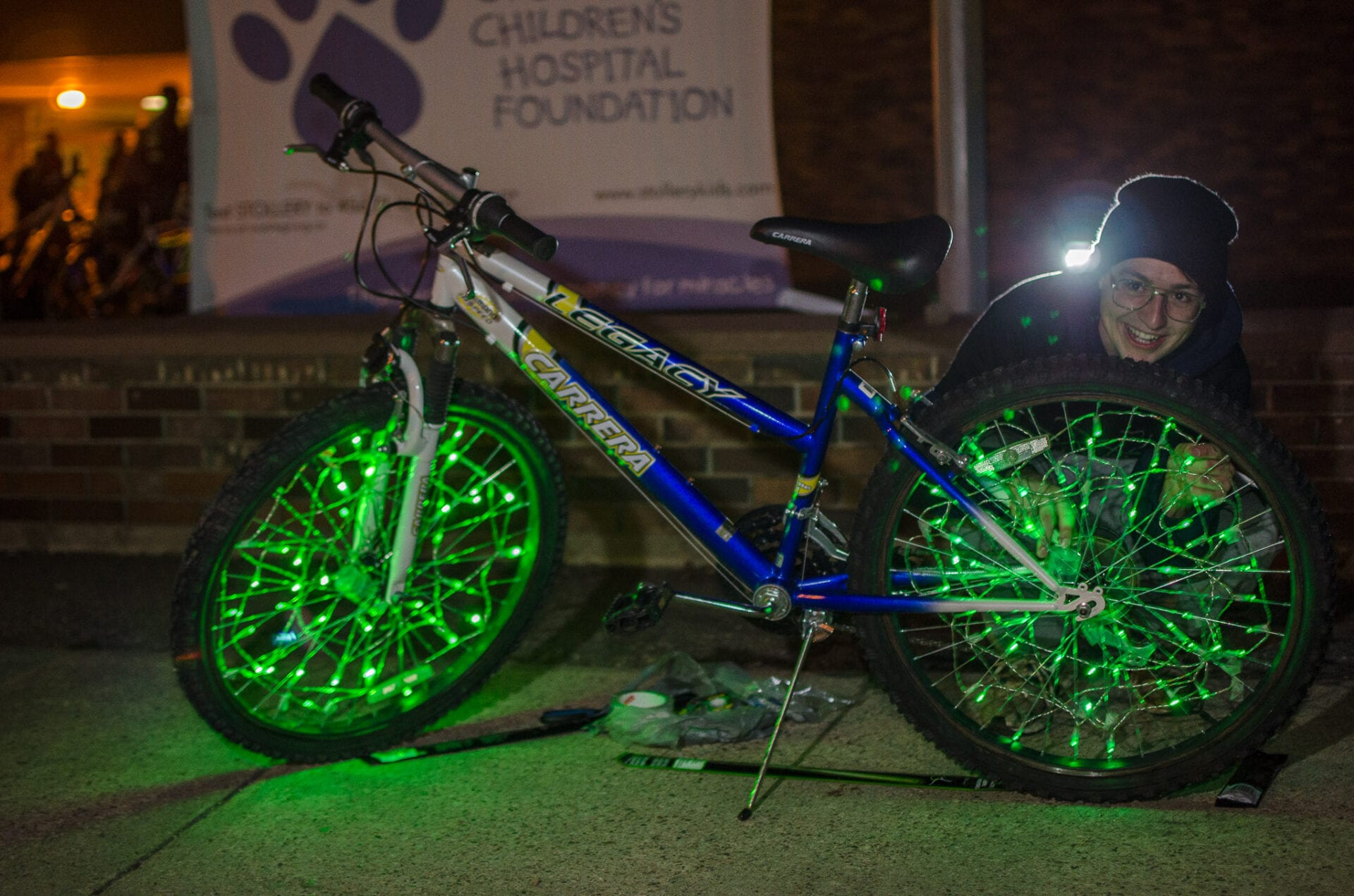 Children Stollery Hospital BikethruTheNight Fundraiser