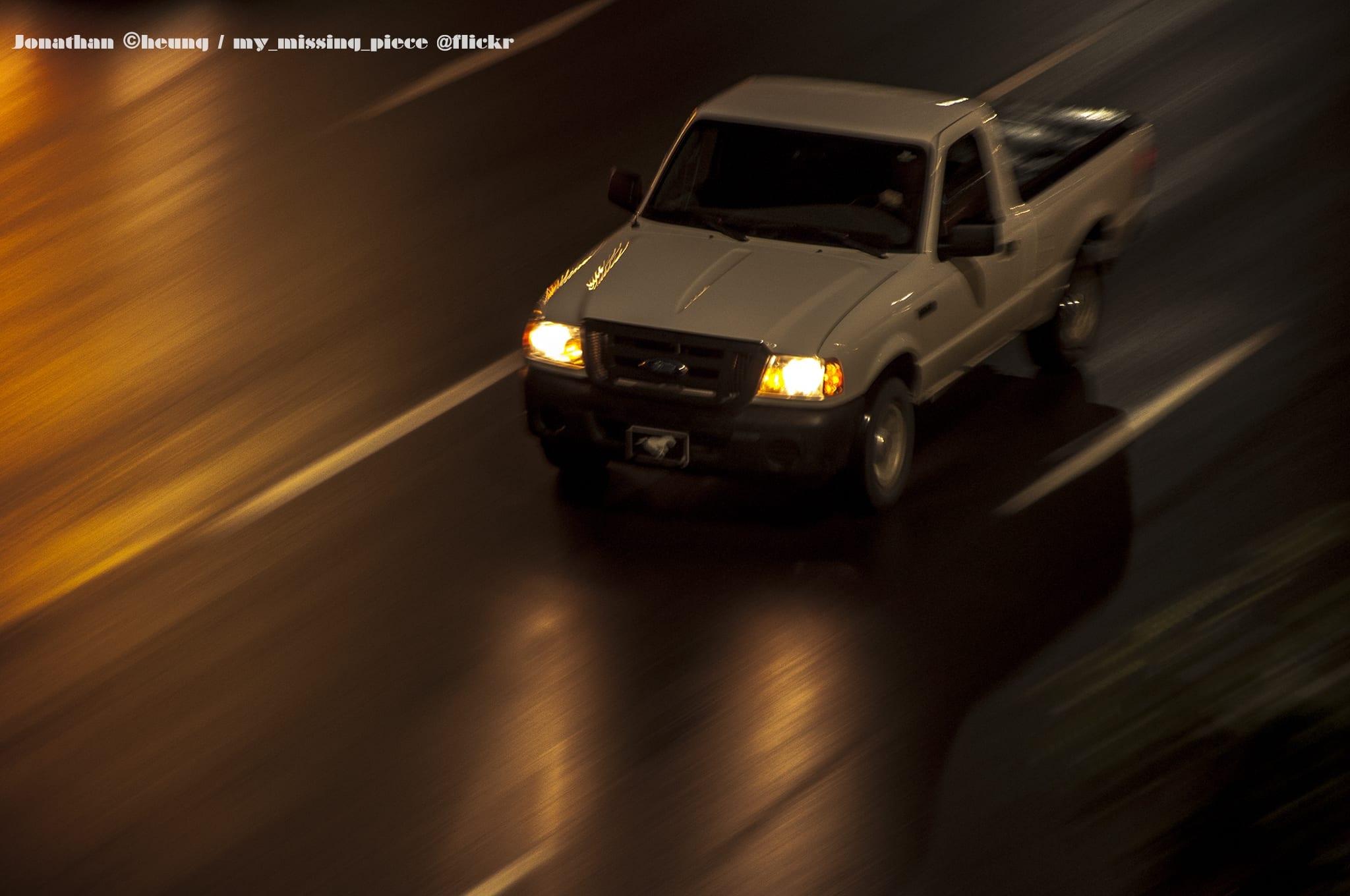 calgary car night stampede race panning (1)