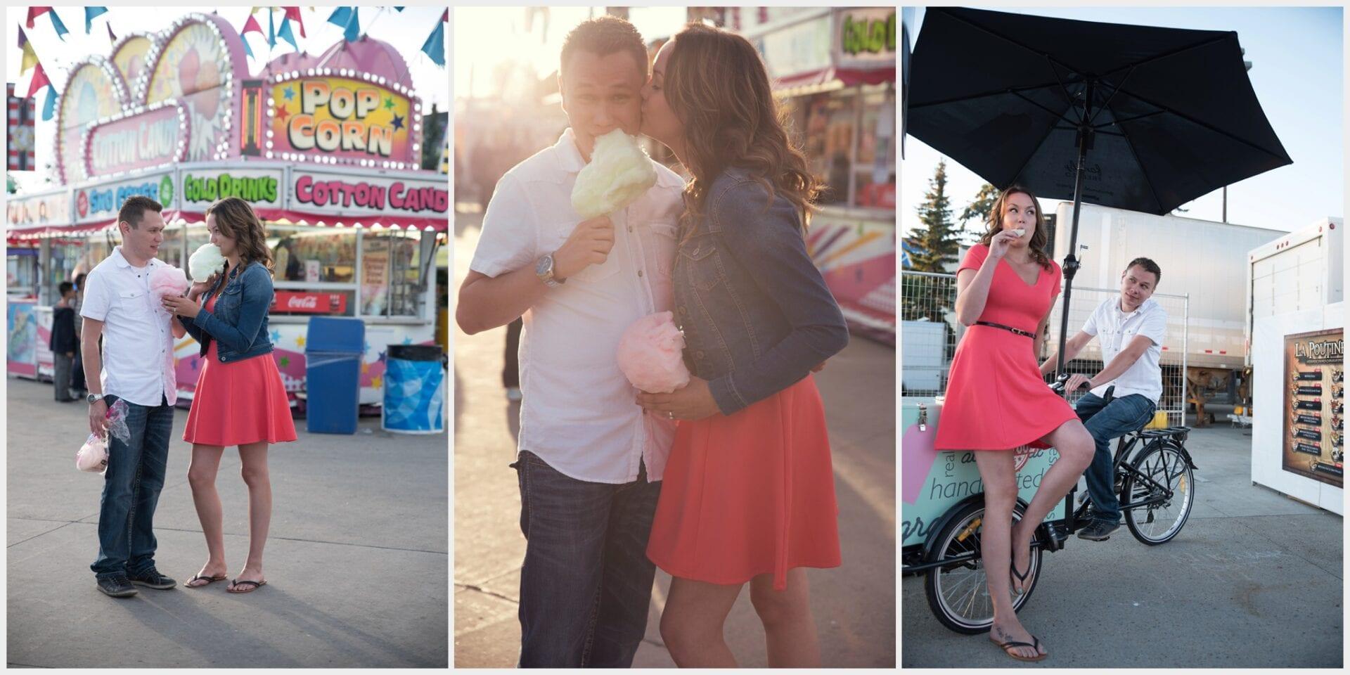 Calgary Stampede Engagement Photographer