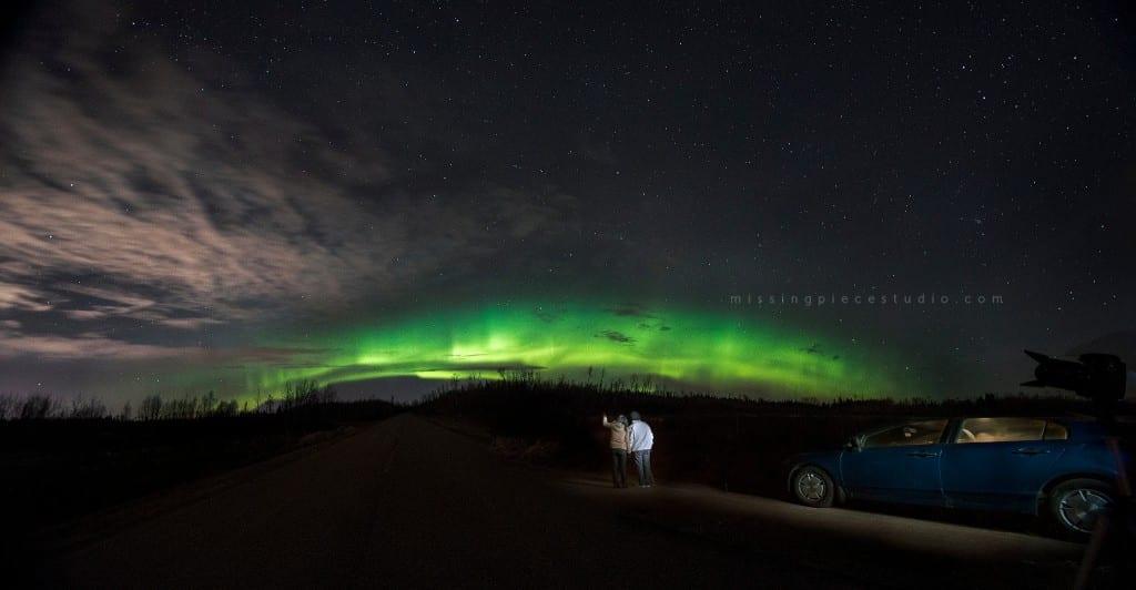 Edmonton Calgary Airdrie Aurora Northern Lights Light painting-_0000