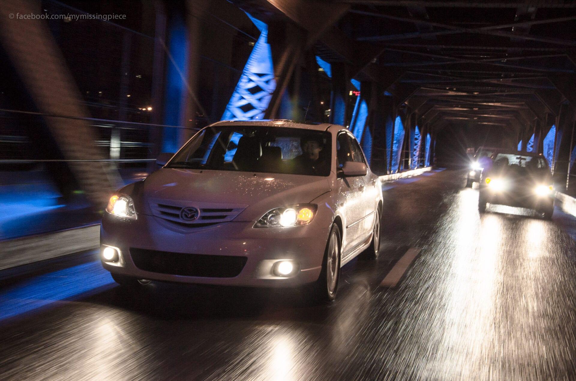 Edmonton High Level Bridge Photography car
