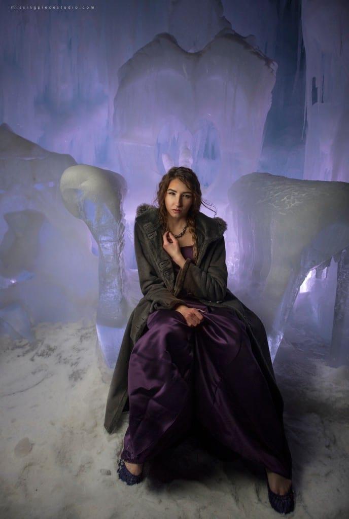 Edmonton Photography Ice Castles Winter Fashion Ice Queen-_0000
