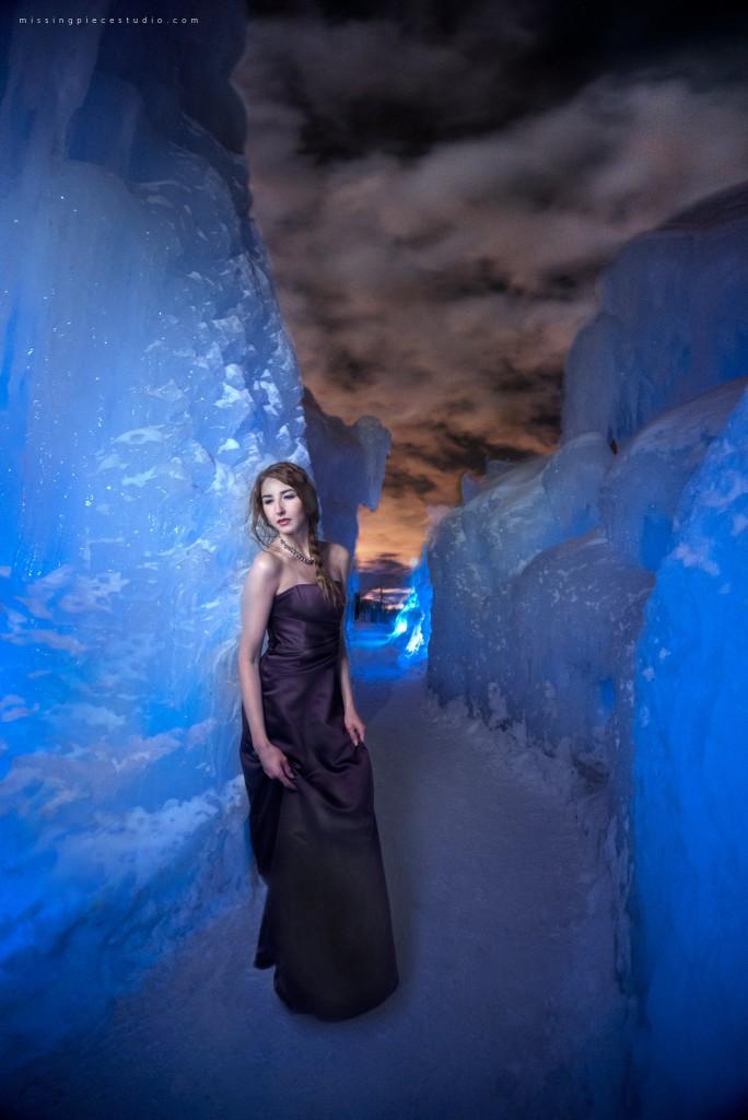 Edmonton Photography Ice Castles Winter Fashion Ice Queen-_0002