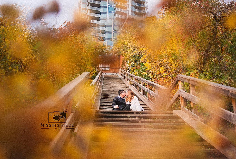 NK-edmonton-fall Engagement-portraits-river-valley_0000