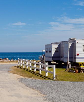 RV Campground on Gwynn's Island
