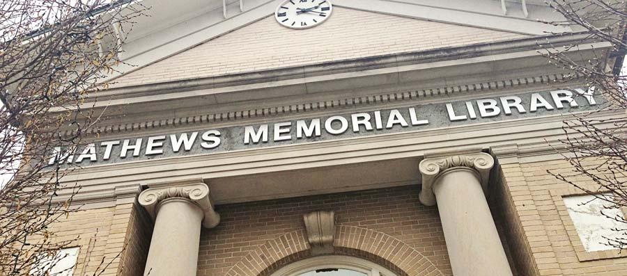 Mathews Memorial Library