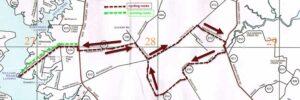 Mathews Micro Triathalon Route