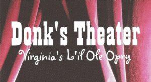 Donk's Theater Logo