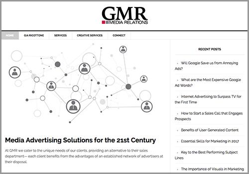 GMR Media Relations web site