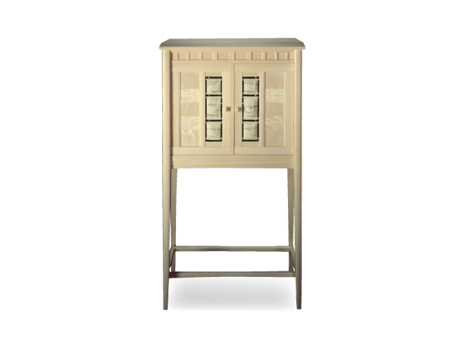 Two-Faced Holly Cabinet