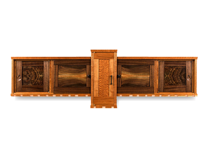 Two-Faced Wall Cabinet