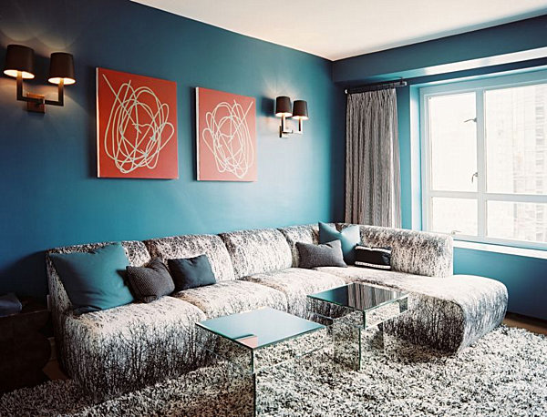simple-coffe-table-designs-teal-blue-living-room-and-lighting-room-ideas