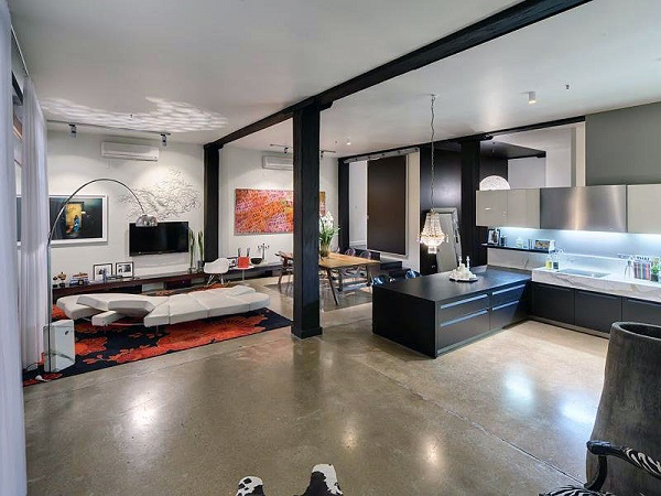 classic-sharp-intersting-contemporary-open-living-room-and-kitchen-designs