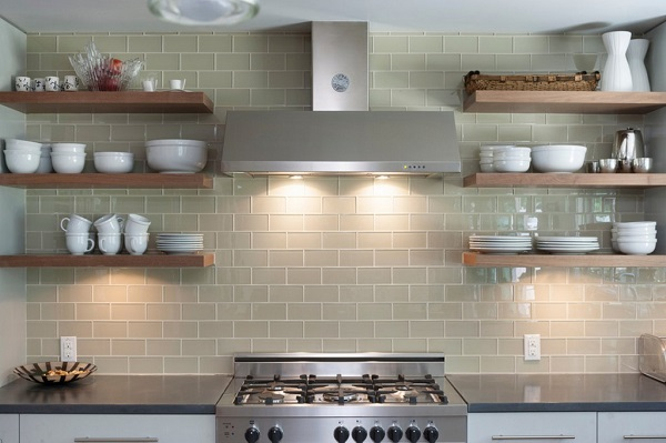Simple Kitchen With Exhaust Hood