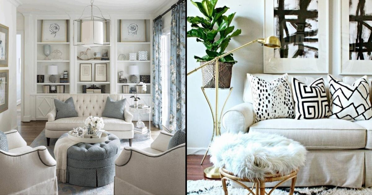 5 White Sofa Ideas For A Modern And Fashionable Living Room Homedecomalaysia