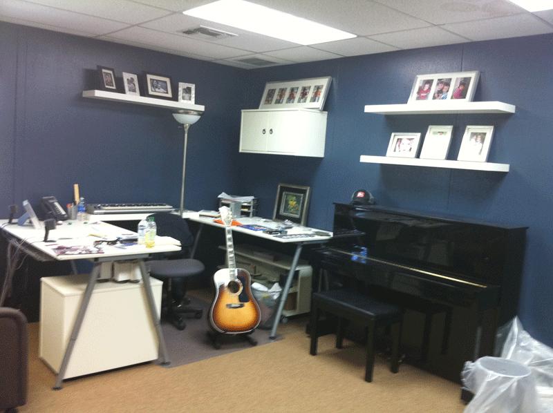 church worship leader office