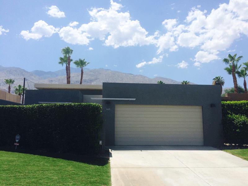 Palm Springs Gray Modern Design