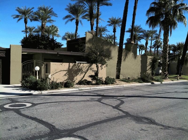 Palm Oasis HOA, Palm Springs street view