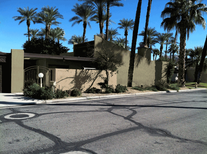 Palm Oasis HOA, Palm Springs street view