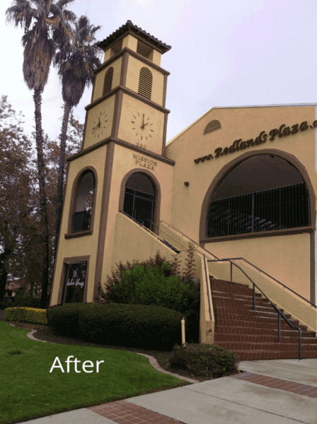 Redlands Plaza after