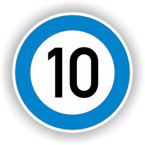 10 blue