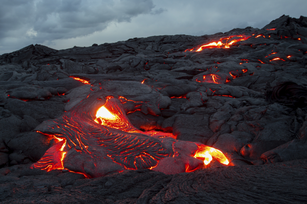 Lava Flow on the Big Island