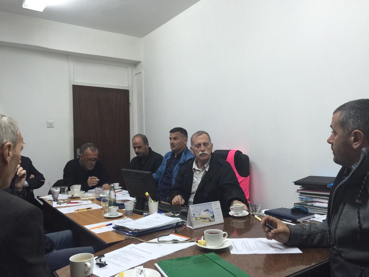Mbledhja E Bordit Të FSK-së